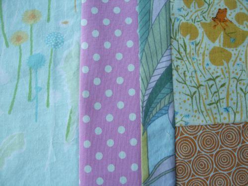 modern quilt WIP