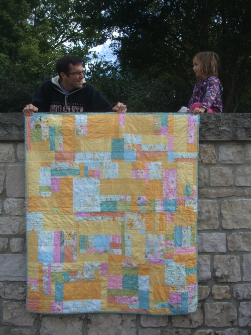 Dandelion Quilt (full with help)